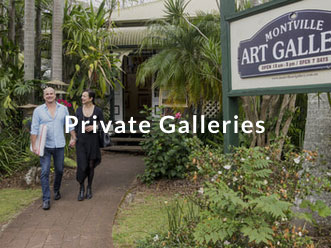 Private Galleries on the Sunshine Coast