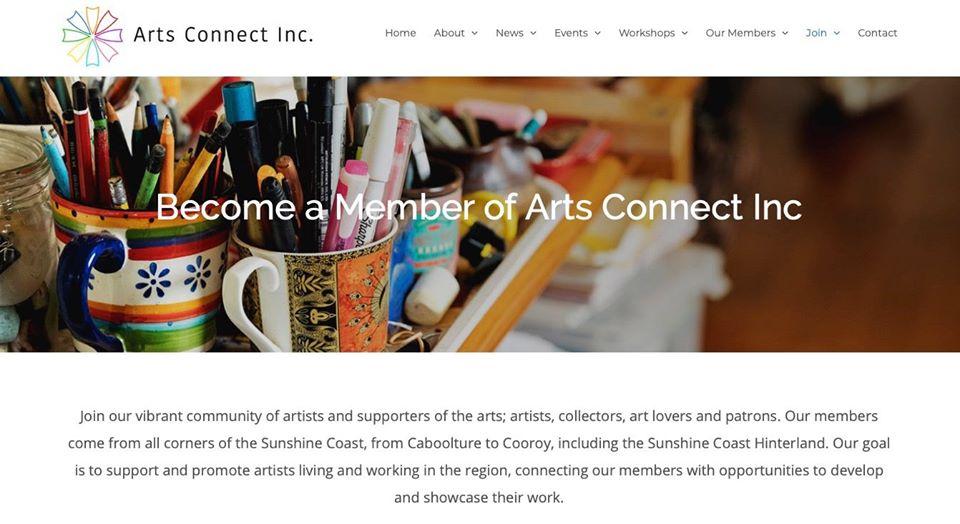 Arts Connect Inc Website Launch