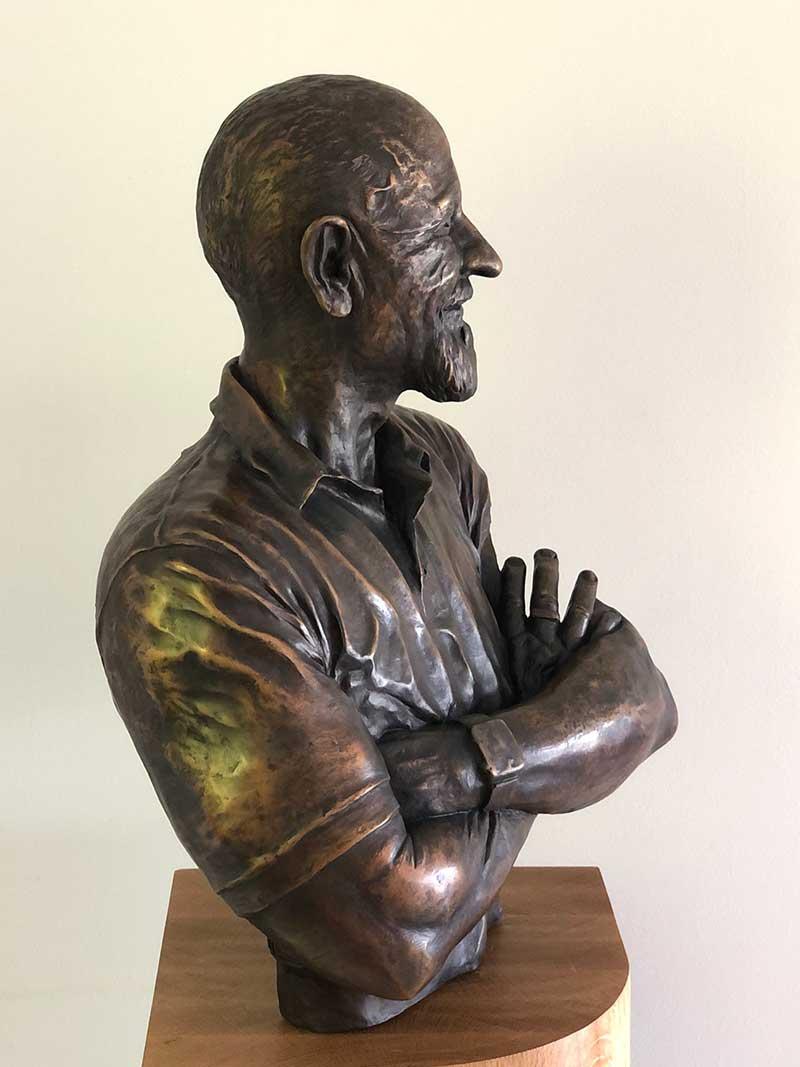 Cam-Crossley---The-Captain-by-Cam-Crossley-Sculptor-2